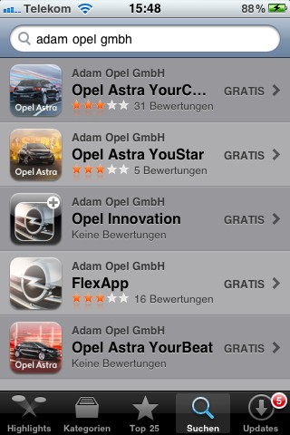 opel iphone