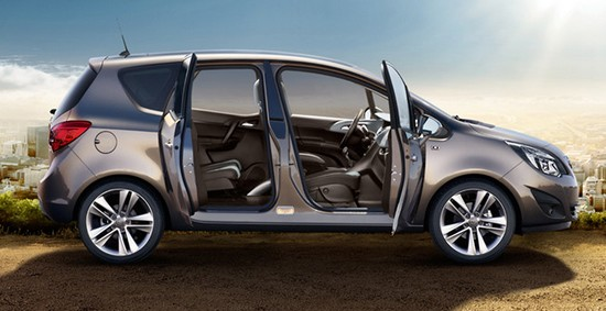 der neue opel meriva der opel mit den suicid doors hinten opelz. Black Bedroom Furniture Sets. Home Design Ideas