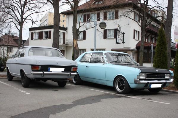 zweieiige zwillinge opel kadett b und opel rekord c Schaut mal zweieiige Zwillinge   Opel Kadett B und Opel Rekord C im Partnerlook