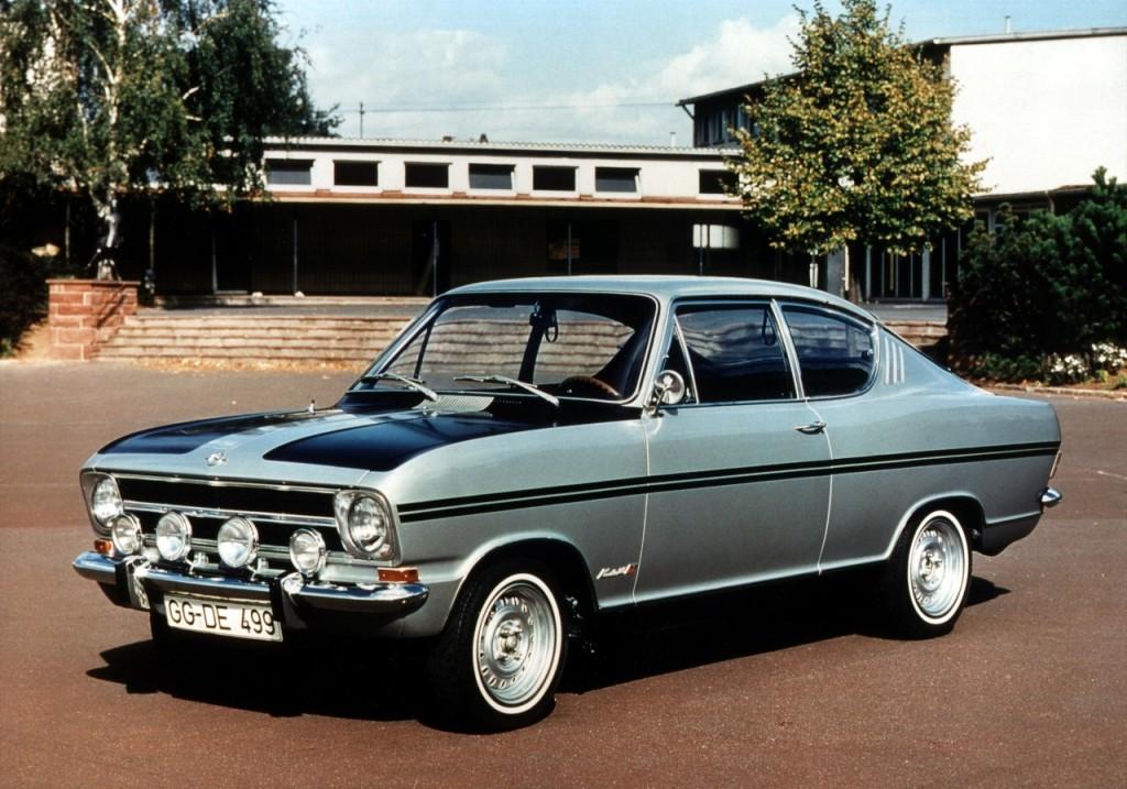 Opel Kadett B Kiemencoupé
